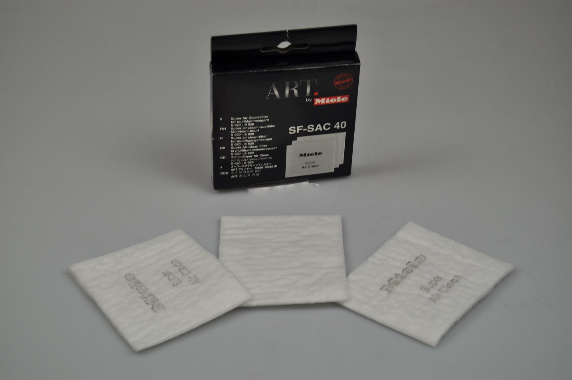 Filter, Miele dammsugare (Air Clean)